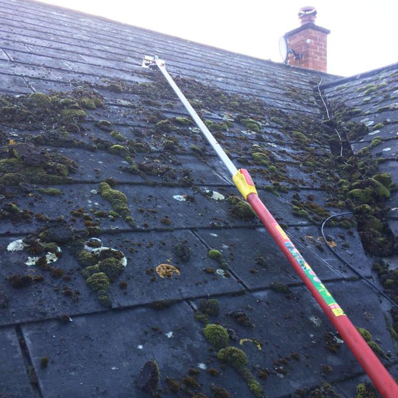 Démoussage et nettoyage de toiture à Viarmes dans le Val d'Oise 95